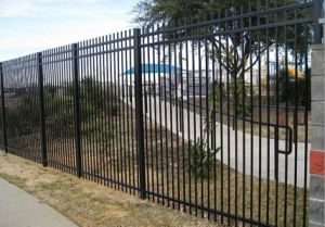 High Security Fence/3rails Tubular Industrial Security Fence (XM3-35) pictures & photos