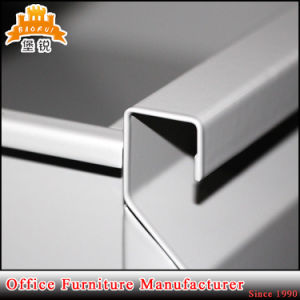 Modern 3 Drawer Office Furniture Metal and MDF Panel Cheap Computer Steel Office Desk pictures & photos