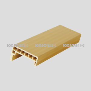 Anti-Termite Waterproof Solid WPC 5.0mm Door Casing Architrave (MT-6021) pictures & photos