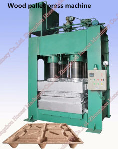 High Yield Compressed Wood Pallet Making Machine pictures & photos