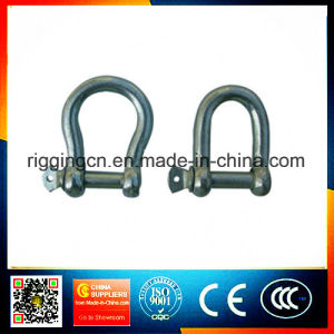 Galvanized JIS Type Bow Screw Pin Shackle pictures & photos