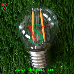E27 G45 2W 45*70mm LED Glass Bulb pictures & photos