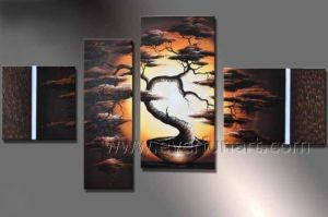 Modern Wall Decorative Landscape Oil Painting (LA4-036) pictures & photos