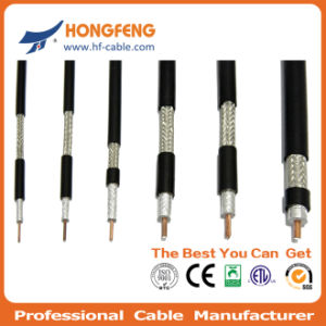 RG6 Triple Shield Coaxial Cable RG6 pictures & photos