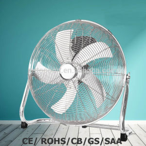 18 Inch High Velocity Powerful Floor Fan with SAA/Ce/Rohs pictures & photos