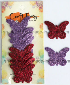 Glittered Decoration Foam Shape Stickers pictures & photos