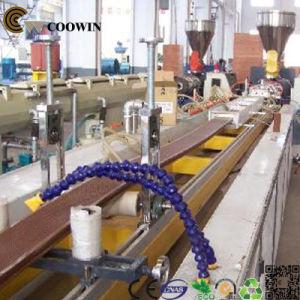 High Quality PVC/PE/PP Wood Plastic Extrusion Line pictures & photos