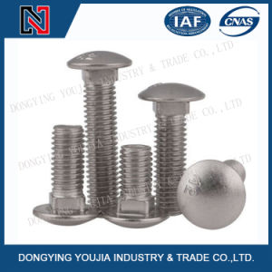 GB12 Stainless Steel Round Head Bolt with Square Neck pictures & photos