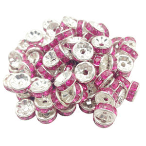 Rhinestone Rondlle Spacers Wholesale Jewelry Findings pictures & photos