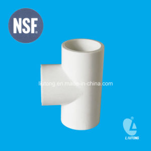 ASTM Schedule 40 D2466 Standard PVC Equal Tee for Supply Water with NSF Certificate pictures & photos