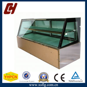 Straight Glass Cake Display /Bread Display Cabinet/Chocolate Refrigerated Showcase pictures & photos