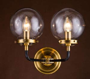 Metal Wall Lamp with Glass Shade pictures & photos