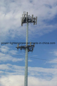 Hot DIP Galvanization Steel Communicaton signal Tower Pole pictures & photos