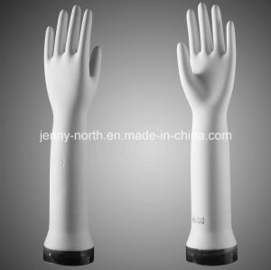 Pitted Curved Surgical Ceramic Gloves Former pictures & photos