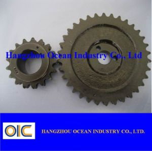 Blacken Steel Chain Wheel Sprocket pictures & photos