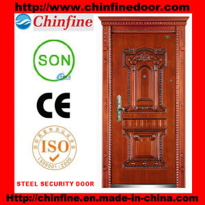 2016 New Design Security Steel Door (CF-903-B) pictures & photos