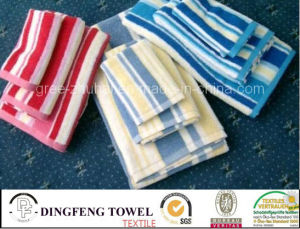 100% Cotton Velour Reactive Printed Beach Towel Df-2992 pictures & photos