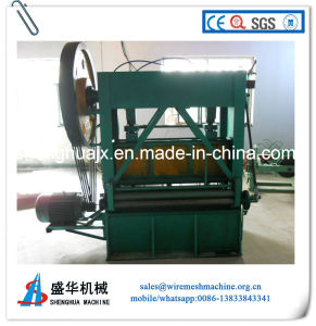 Good Quality PLC Control Hole-Pound Mesh Machine (AP-H) pictures & photos