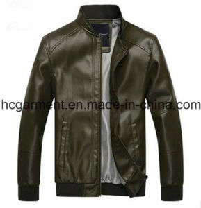 Motorcycle Jackets, Safety Waterproof PU Leather Jackets for Man pictures & photos