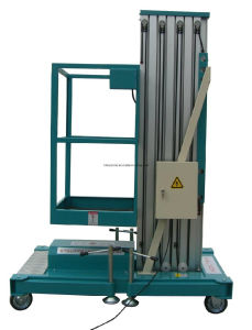 Henan Factory Price Aluminum Elevating Hydraulic Work Platform for Lifting pictures & photos
