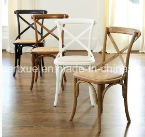 Rental Wedding Cross Back Chair X Back Chair Stackable Cross Back Chair pictures & photos