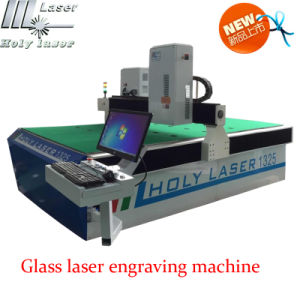 CNC Glass Laser Engraving Machine, Glass Art pictures & photos