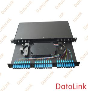 Fixed Rack Mount Type Patch Panel 24cores Type2 pictures & photos