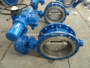 Electronic Flanged Butterfly Valve (D943H-DN100-16C) pictures & photos