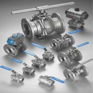 Precision Lost Wax Casting Ball Valves Flange Valve (Machining Parts) pictures & photos