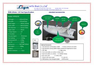 6.2m Liya China Rib Boats Fiberglass Wave Boat for Sale pictures & photos
