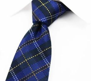 New Design Stylish Plaid Silk Woven Necktie-02 pictures & photos