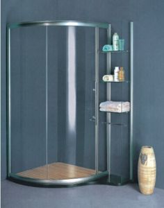 Customize Tempered Glass Shower Cubicle (H015C) pictures & photos