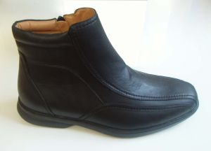 Men′s PU Comfort Boots/Soft Boots