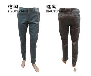 Men Fashion Cotton Soft Garment Dyed Trousers Pants pictures & photos