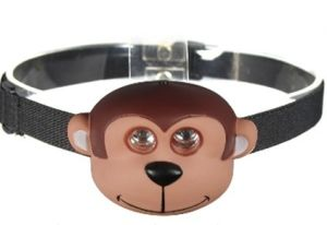Lovely Monkey LED Head Lamp for Kids (MC1031) pictures & photos