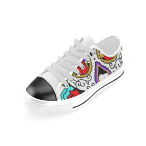 Style No Custom Sneaker 031 Low Cut Print Unisex Canvas Casual Shoes Custom Canvas Sneakers pictures & photos