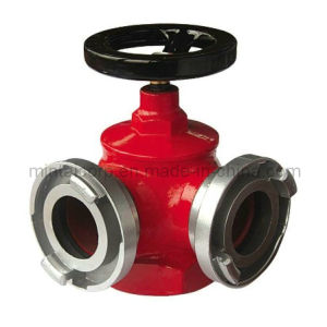 Dual Ways/Outlets of Fire Hydrant Valve (SNS65)