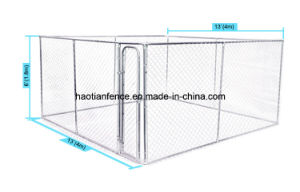 Hot Sale Large Outdoor Chain Link Iron Dog Cage pictures & photos