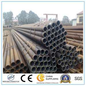 ASTM A53 ERW Black Carbon Welded Steel Pipe pictures & photos