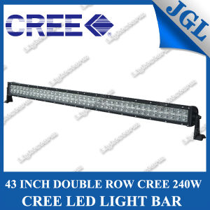 43inch 240W CREE LED Driving Light Bar 12V Offroad pictures & photos