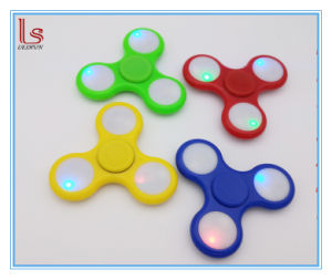Wholesale on/off Three Modes LED Hand Spinner Fidget Finger pictures & photos
