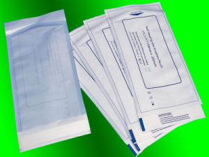 60g/70g Medical Dialysis Paper Made Sterilization Self Sealing Pouch pictures & photos