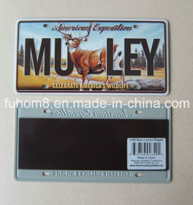 Customized Small Magnetic Aluminum Advertising Board / Billboard with Embossed Logo pictures & photos