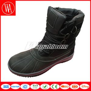 Fashion Snow Women Boots with Fur Lining pictures & photos