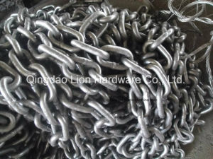 Studless Marine Anchor Chain Grade 2 with HDG pictures & photos