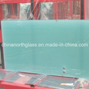 10mm Thick Sandblasting Laminated Glass pictures & photos