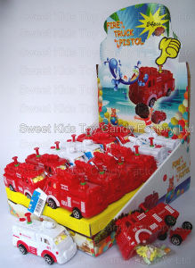 Fire Truck Water Gun Toy Candy (101011) pictures & photos