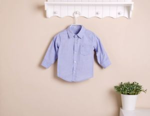 2013 Mom and Bab New Arrival Autumn Long Sleeves Boy′s Shirt, 100% Cotton Baby Clothes, Children′s Wear