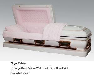 Onyx White Casket