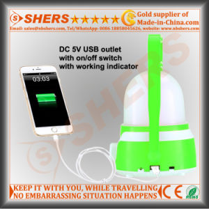 Best Seller Rechargeable Camping Lantern USB Outlet pictures & photos
